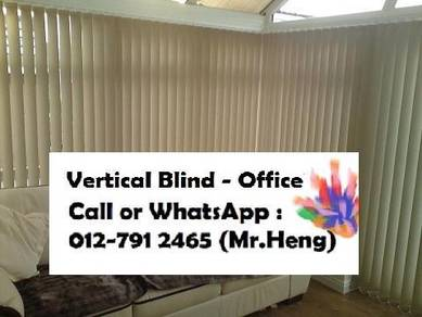 Best Seller Office Vertical Blind Installed ZA10
