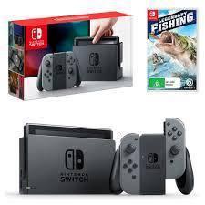 Nintendo Switch Grey JoyCon Bundle