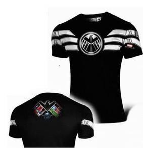 Super Hero Slim Fit Compression Shirt - SHIELD 2