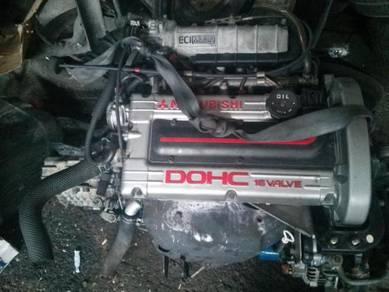 Engine 4G61 NA dan Turbo