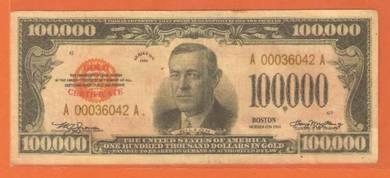 100000 Dollar Gold