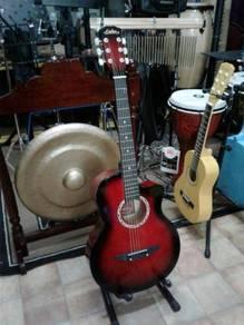 Calao Redburst Acoustic Guitar