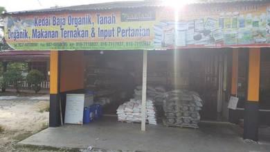 Kedai Baja Organik Tanah Organik Racun Organik