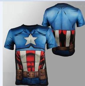 Super Hero Slim Fit Shirt - Captain America 6