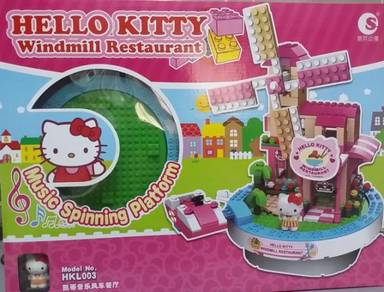Bricks - Hello Kitty Musical Windmill (Sanrio)