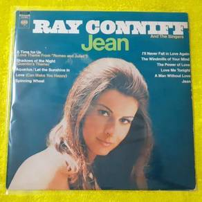 EEQ lp Ray Conniff Jean piring hitam vinyl