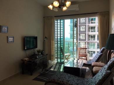 Fully Furnished Condominium Parkland Residence ,Bachang Melaka