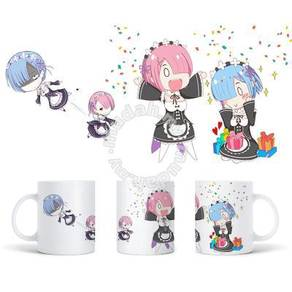Anime RE:ZERO REM RAM Mug