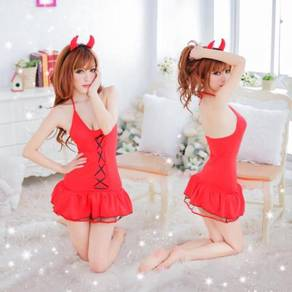 2317 sexy red devil dress cosplay party dress