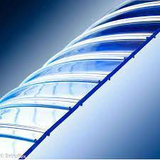 Ribbed PVc Strip Curtain with high temperature