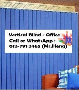 Plain Colour Vertical Blind for Office TA87