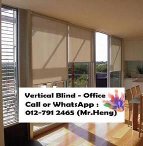 Modern Office Vertical Blind with Install XA99