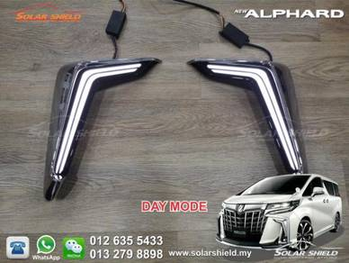 Toyota Alphard 2019 Bumper Light LED Bodykit