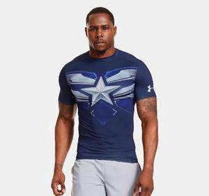 Super Hero Slim Fit Shirt - Captain America 1