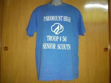 Vtg paramount high 50-50 tshirt