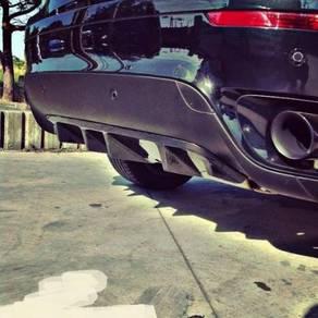 BMW X6 E71 Msport Mtec Carbon Fiber Rear Diffuser