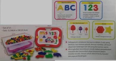 Creative Building Mushroom Pins