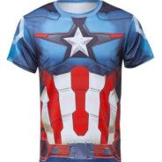 Super Hero Slim Fit Shirt - Captain America 7