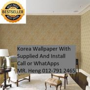 Classic Wall paper with installation f89545