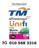 Putrajaya Tm Unifi Maxis wifi Time Fibre modem