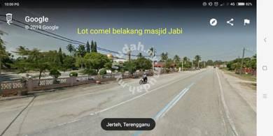 Lot comey belakang Masjid Jabi Jerteh
