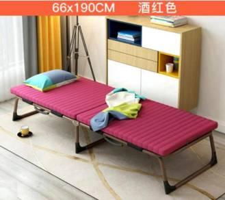 Foldable Bed Mattress Katil Single Portable Frame