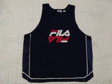 FILA EMBROIDERED LOGO singlet size xL