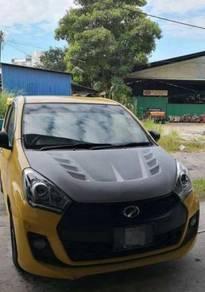 Perodua Myvi 2011 Front Bonnet Fiber