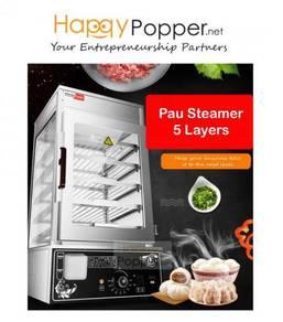 Commercial Pau Steamer Electric heavy duty New