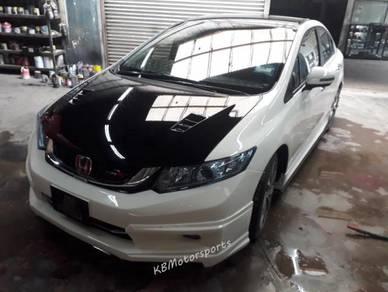 Honda Civic FB Mugen Bodykits With Spray Color
