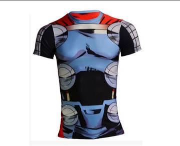 Super Hero Slim Fit Compression Shirt - Thor