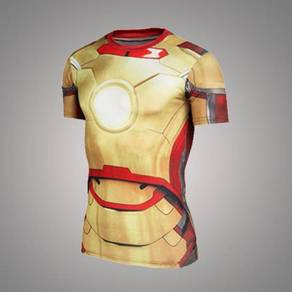 Super Hero Slim Fit Compression Shirt - Ironman 2