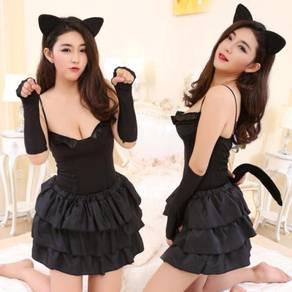 2369 sexy cat women dress cosplay party dress