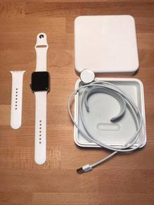 Apple Watch Series 2 42mm - White Stainless Case