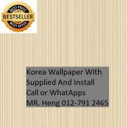 Classic Wall paper with installation hgh6055
