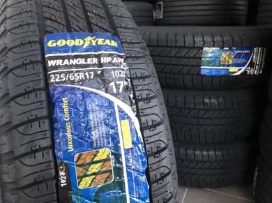 Tayar Baru 225 65 17 Goodyear wrangle HP new tyre