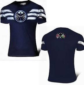 Super Hero Slim Fit Compression Shirt - SHIELD 1