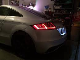 Audi tt Golf 7 light bar with led tail lamp