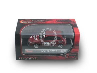 Model Koleksi Alfa Romeo 147 GTA Cup (1:64)