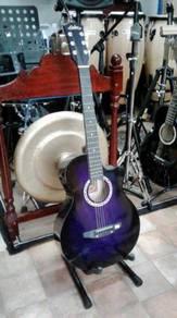 Calao Purple Burst Acoustic Guitar