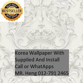 Classic Wall paper with installation 650544