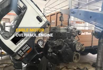 Overhaul enjin lori canter/fuso /hino/hicom/inokom