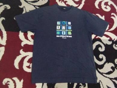 Fila t shirt size L