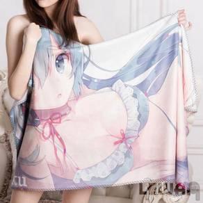 Anime Re-zero Rem towel