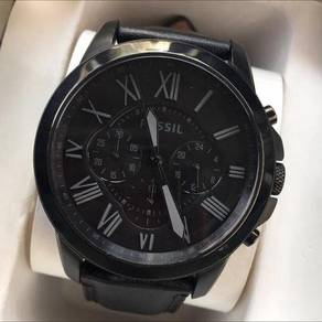 Fossil Watch in Black