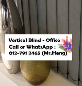 New Office Vertical Blind- with install 666T