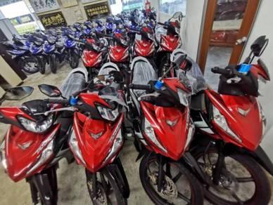Honda dash 125 bayaran kedai 99% lulus/ctos/criss