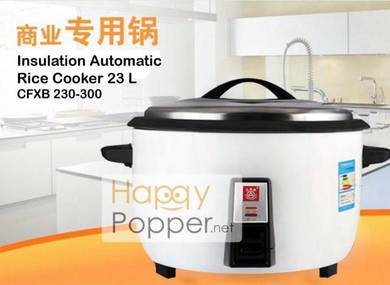 Rice cooker periuk nasi 23L liter Heavy Duty new