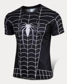 Super Hero Slim Fit Compression Shirt - Spiderman4