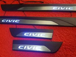 Honda civic fc oem led sill plate steel plate